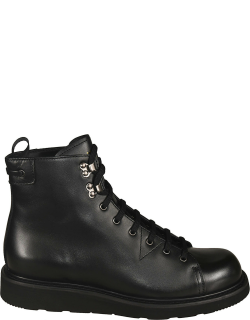 Car Shoe Light Casual Laced-up Boots
