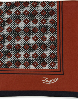 Men's Double-Sided Graphic Silk Pocket Square