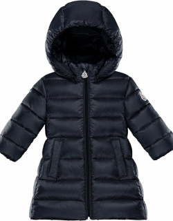 Majeure Quilted Puffer Hooded Long Coat,
