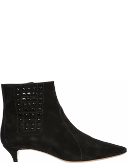 Tods Voix Humaine 8 Heeled Ankle Boots