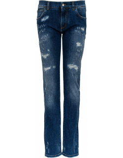 Dolce & Gabbana Ripped And Skinny Jeans