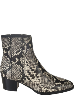 Tods Snake-skin Effect Ankle Boots