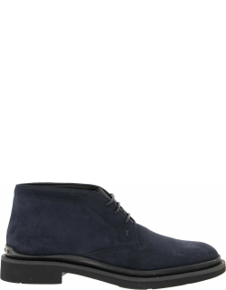 Tods Ankle Boot In Suede Leather