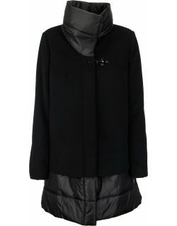 Fay Quilted Cashmere Blend Coat