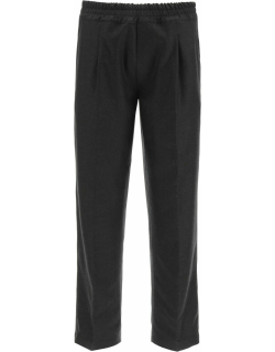 The Gigi Wool Trousers With Drawstring