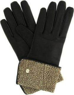 Borbonese Leather Gloves