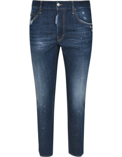 Dsquared2 Regular Cropped Jeans