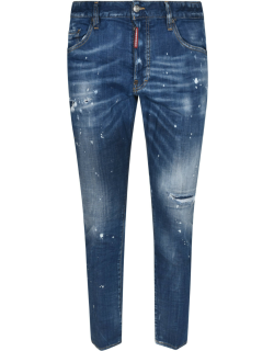 Dsquared2 Distressed Cropped Jeans