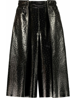 MSGM Faux Leather Skirt-pants