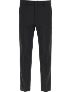 Dolce & Gabbana Casual Trousers In Wool Blend