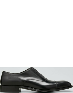 Men's Formal Leather Lace-Up Oxfords