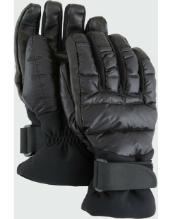 Leather Down-Fill Gloves