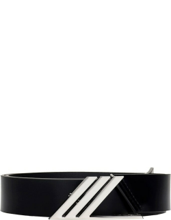 The Attico Belts In Black Leather