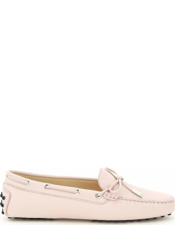 Tods Rubber Moccasin With Laces