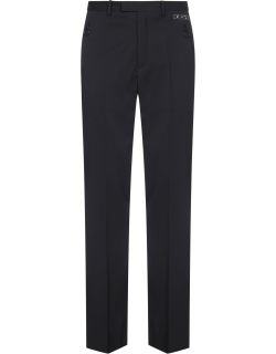 Off-White Tuxedo-style Wool-blend Trousers