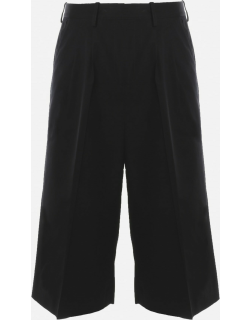 J.W. Anderson Black Cropped Tailored Trousers