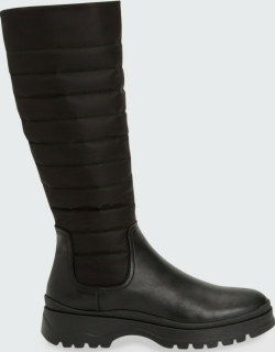Skyla Quilted Winter Tall Boots