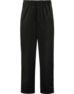 Comme des Garçons Shirt Wool Tapered-fit Trousers