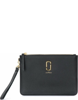 Black Leather The Marc Jacobs The Softshot Purse