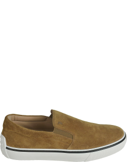 Tods Logo Stamped Slip-on Shoes