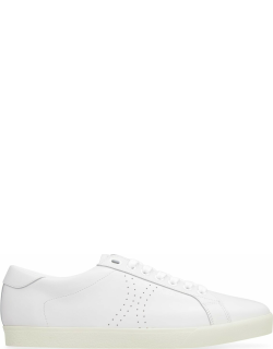 Celine Triomphe Leather Low-top Sneakers