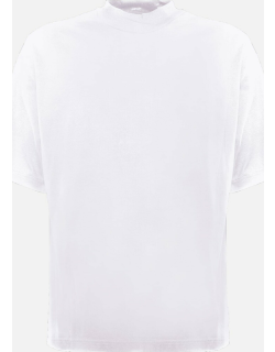 Acne Studios Cotton T-shirt With High Collar