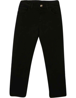 Versace Black Trousers Young