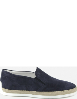 Tods Suede Slip-ons