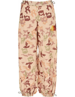 The Attico Camouflage Sports Trousers