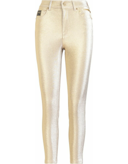 Golden Versace Jeans Couture Trousers